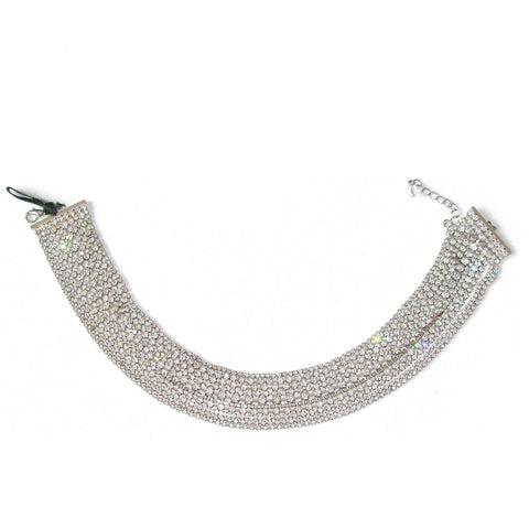 Vintage Collection Crystal Collar Necklace