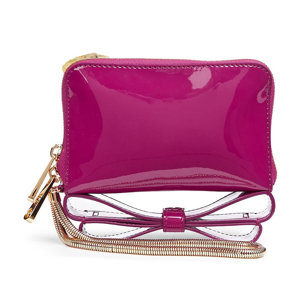 Zac Posen Milla Bow Wristlet Back View