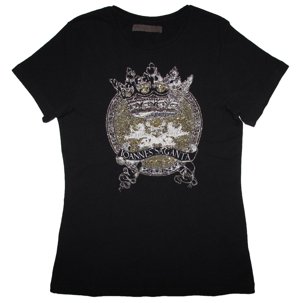 Zara Collection Graphic Sequin Tee