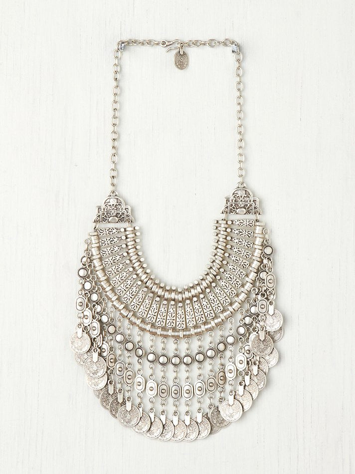 Free People Aantalya Coin Necklace