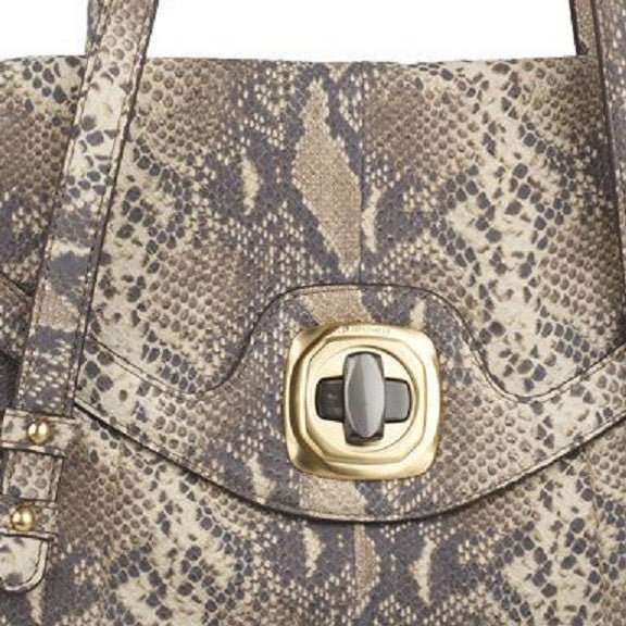 B.Makowsky 'Claudine' large satchel in leather Front Closeup