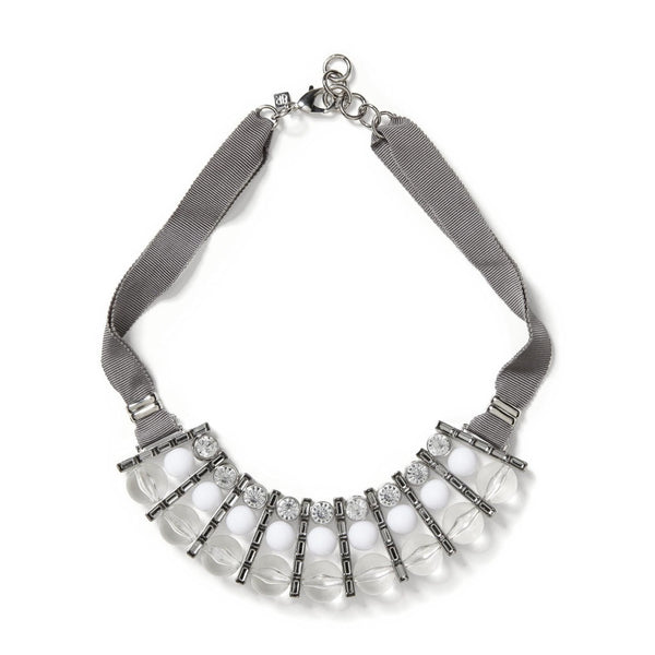 Banana Republic Grosgrain Ribbon Statement Necklace