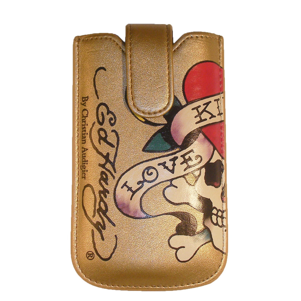 Ed Hardy Love Kills Slowly Cell Phone Case