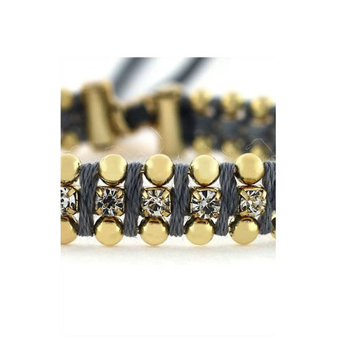 Grey Frienship Bracelet by Jessica Simpson