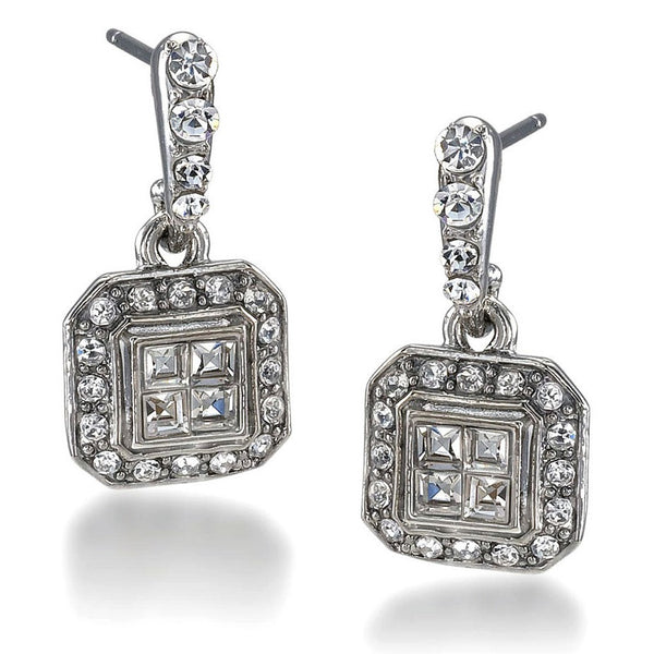 Carolee Lux Hallie Deco Pierced Earring Closeup