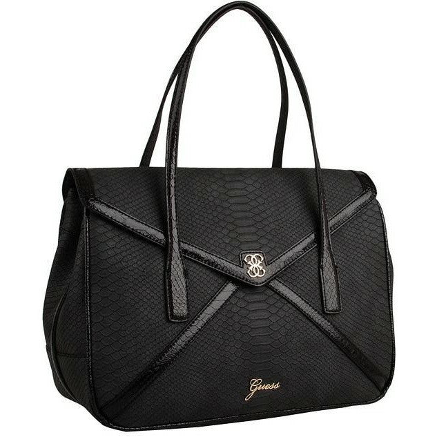Guess Confession Large Flap Satchel Angled View
