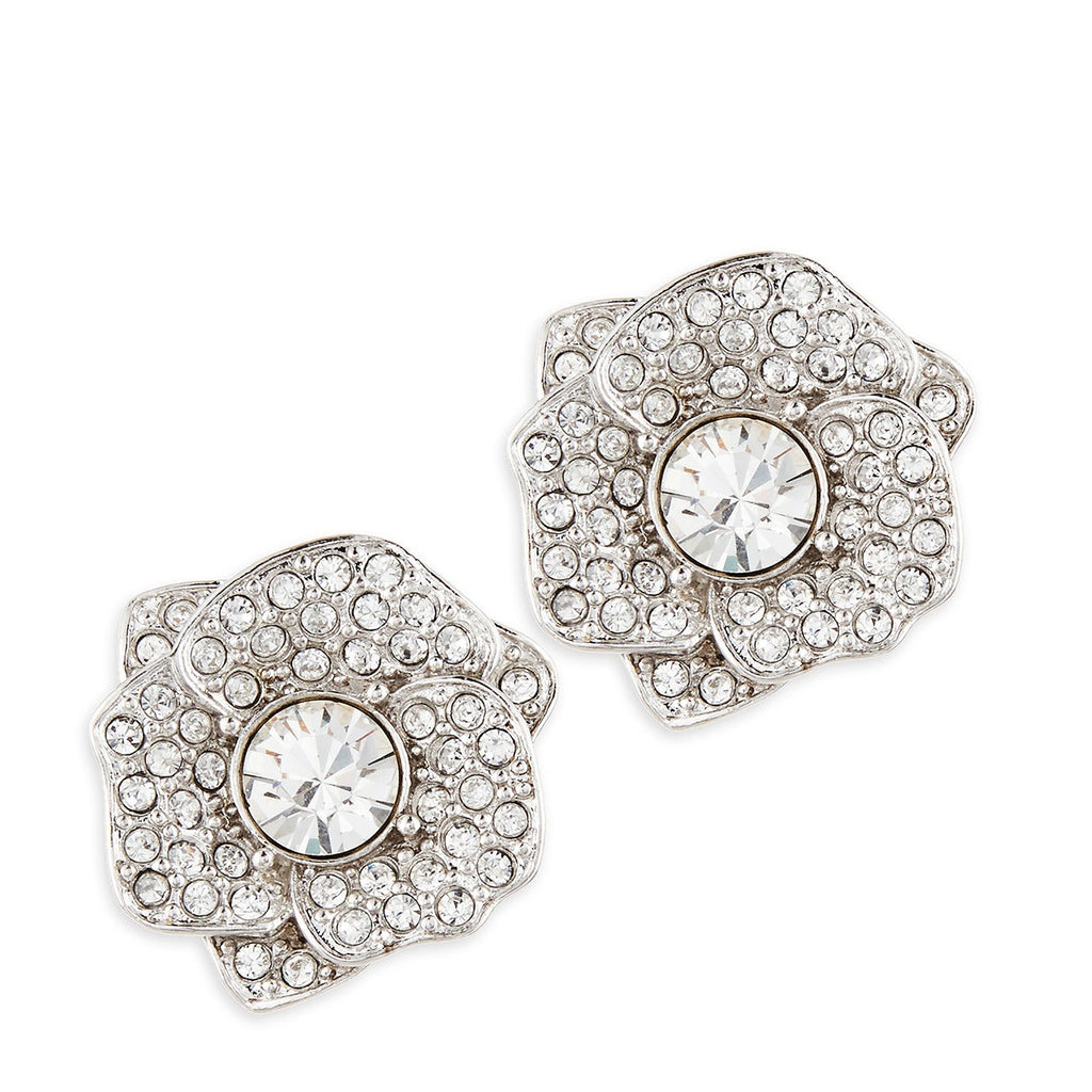 Kate Spade Crystal Flower Earring- Front