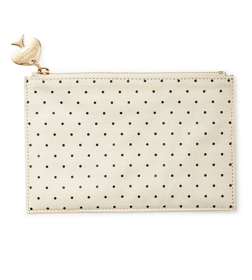 new style cfcc7 3abbc Kate Spade Deco Dots Pencil Pouch