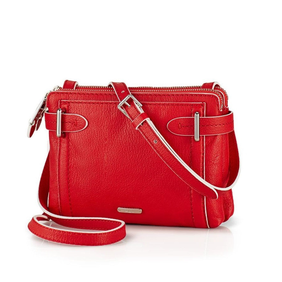 LAUREN-RALPH-LAUREN-Gladstone-Double-Zip Cross-Body Bag-Front