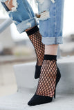 Edgy Perfection Fishnet Socks