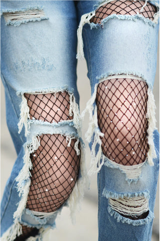 The Alexis Fishnet Tight
