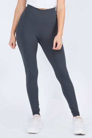 Ride On Vintage Wash Moto Leggings