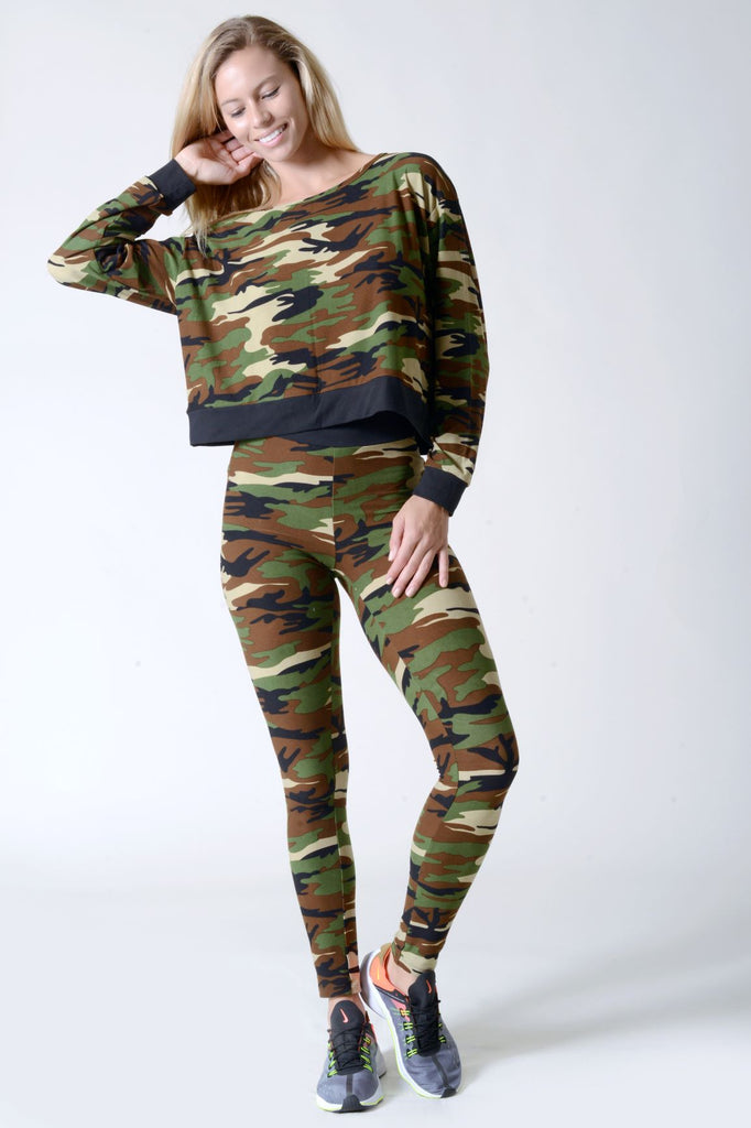 camouflage sweatshirts for women 2019