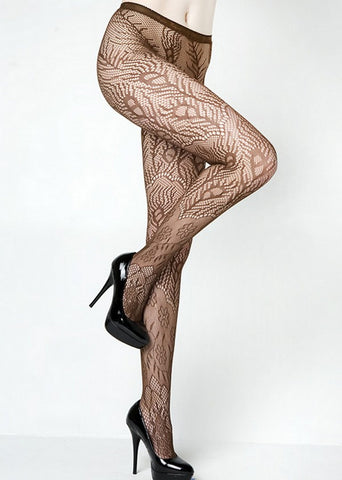 PEACOCK FEATHERS FISHNET