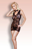 Floral Lace Body Stocking Dress