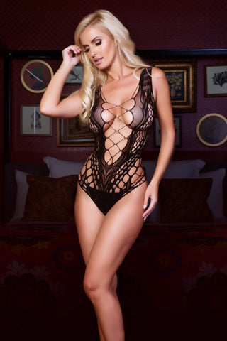 Show Stopper Fishnet Bodystocking