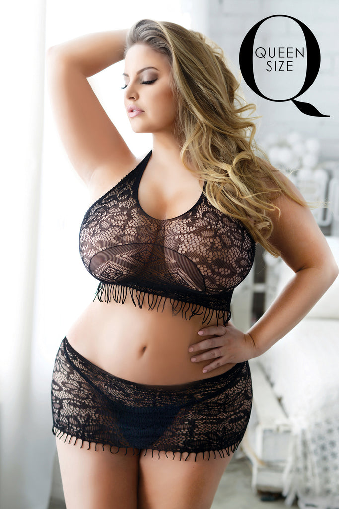 plus size lingerie for women black bodystockings