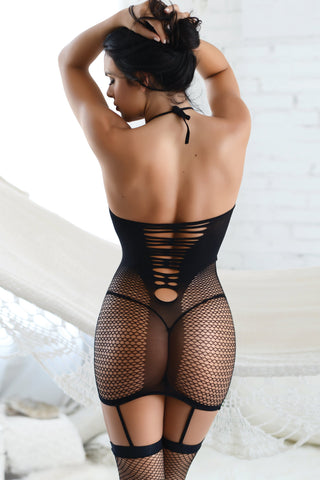 All You Need Fishnet Bodystocking