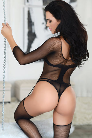 In Control Fishnet Bodystocking