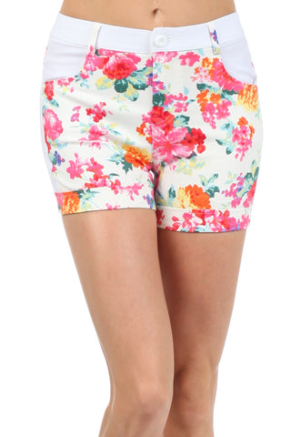 Rosalyn Floral Shorts
