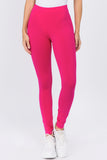 hot pink cotton legging