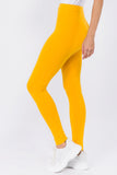yellow cotton pants for women
