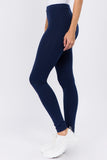 dark blue cotton legging