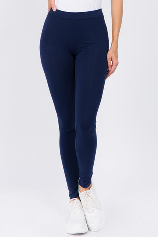 Wild Thing Active Faux Leather Moto Leggings