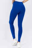 royal blue high waist leggings