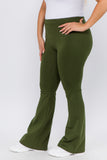 green yoga pants plus size