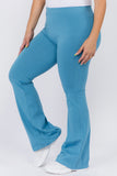 baby blue yoga pants plus size