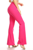 fuchsia yoga pants