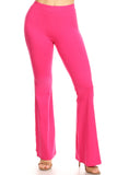 hot pink yoga pants