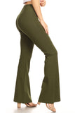 green yoga pants for women