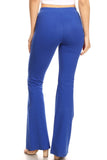 royal blue cotton pants for women summer