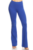 royal blue cotton yoga pants