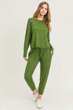 Basic Knit Loungewear Set