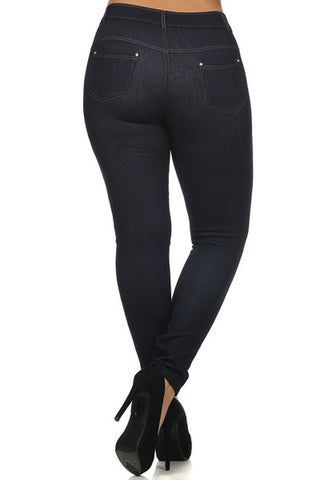 Plus Size Looking Good Jeggings
