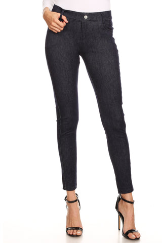 Classic 5 Pocket Capri Jegging