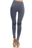 light denim workout legging