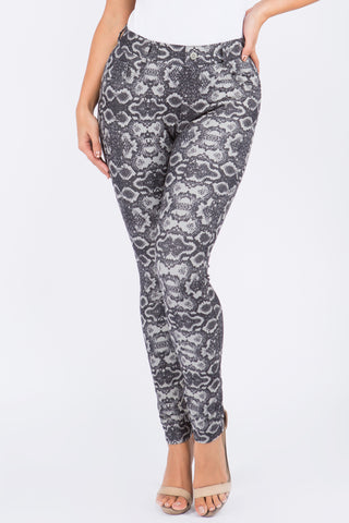 Animal Instinct Peach Skin Leggings