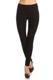 black high waisted slacks women's professional work pants