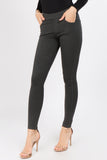 charcoal high rise trouser pants for women