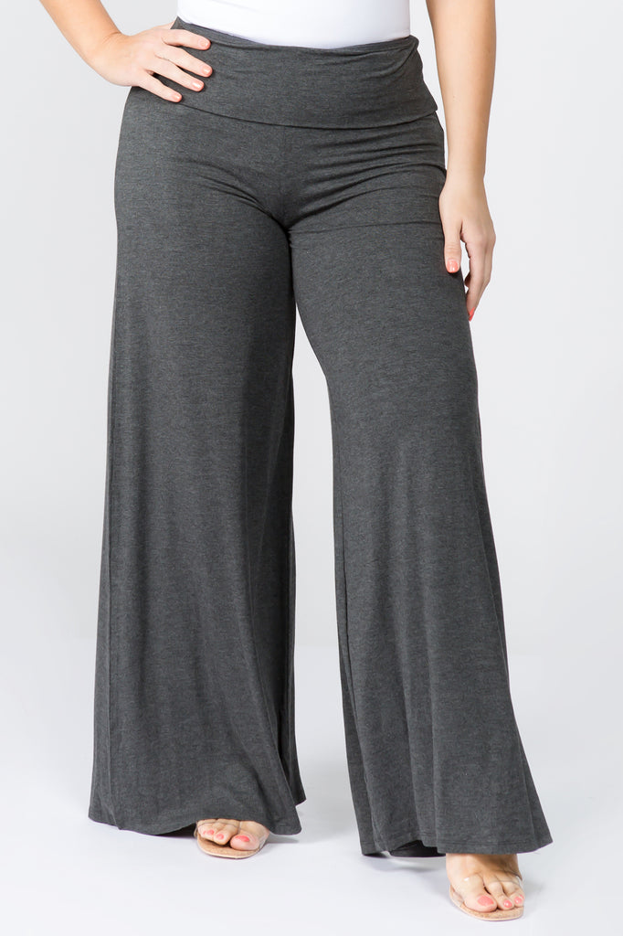 black wide leg pants for women lounging