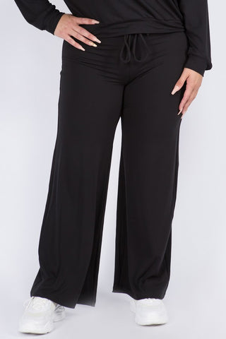 Plus Size Comfy Drawstring Pants
