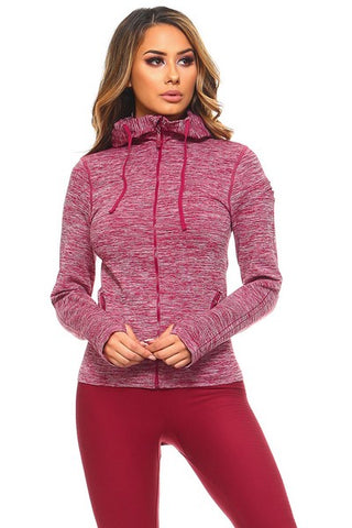 Active Long Sleeve Wrap Mesh Crop Top