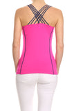 Cross Back Performance Tank Top