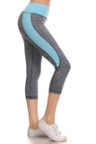 Cute in Colorblock Active Capri Leggings