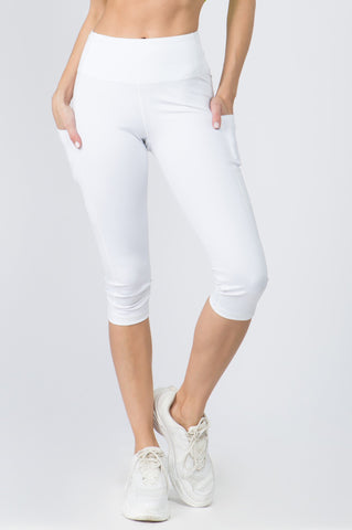 Active 5-Pocket Capri Leggings