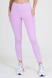light purple gym tights for women